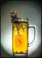 BUG IN DRINK BUGGROFF novelty