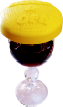 BuggRoff novelty Wine Glass drink cover